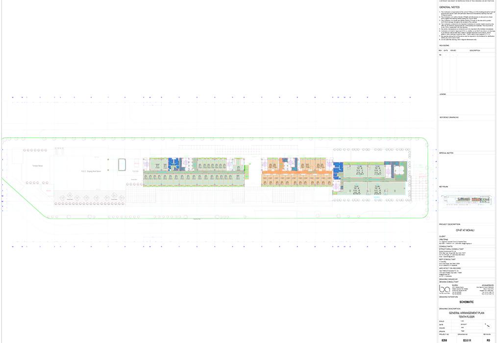 Tenth Floor Plans