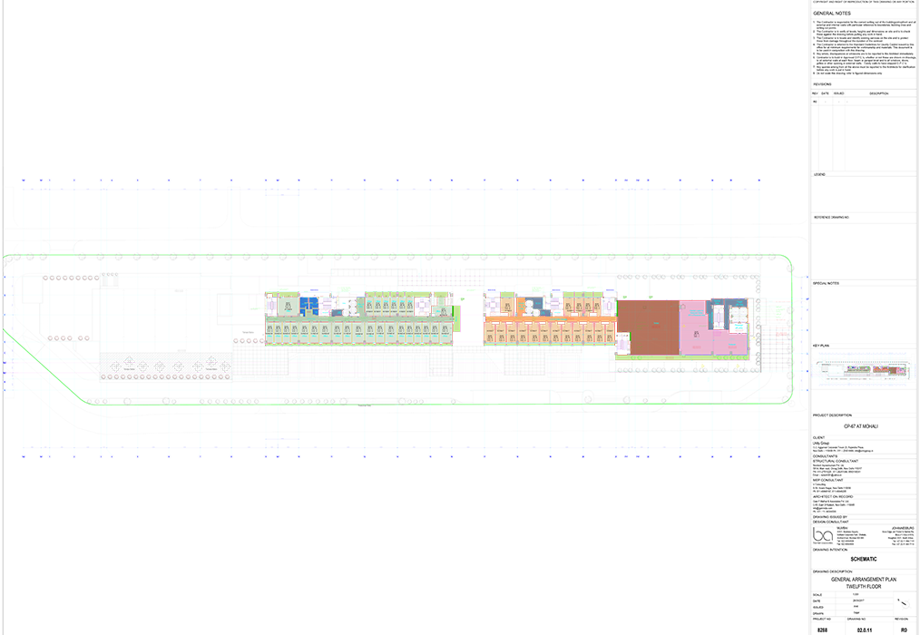Twelfth Floor Plans